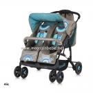 Бебешка комбинирана количка  за близнаци Туини - Chipolino