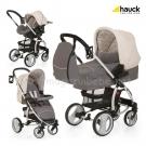 Бебешка  Комбинирана количка 3в1 MALIBU ALL IN ONE - Rock - HAUCK