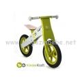 KinderKraft Runner колело за балансиране зелено-сиво